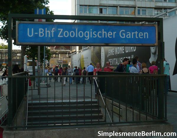 Estação do Metrô de Berlim