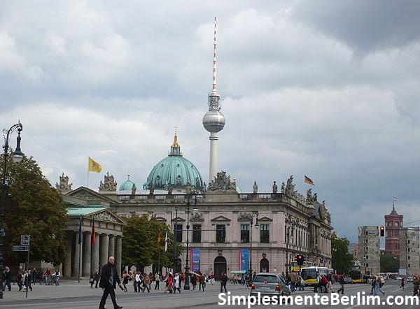 Fernsehturm (Torre de TV) em Berlim