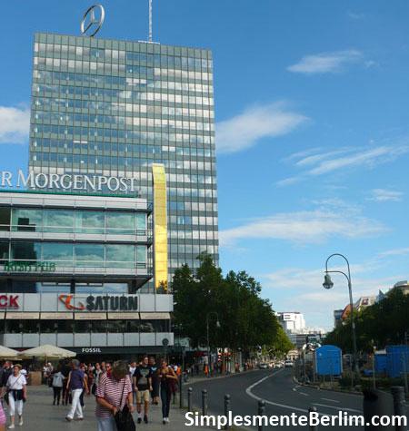 Avenida Kudamm em Berlim
