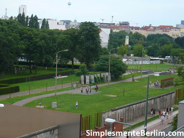 Memorial do Muro de Berlim na Bernauerstr.