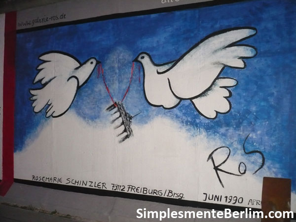 East Side Gallery - Muro de Berlim