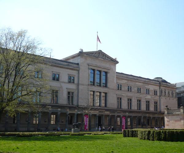 Neues Museum (Museu Novo) em Berlim