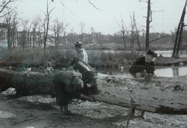 Parque Tiergarten Pós-guerra