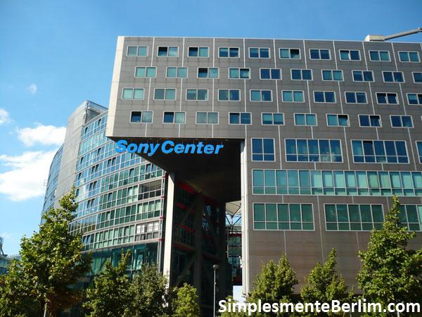 Sony Center na Potsdamer Platz