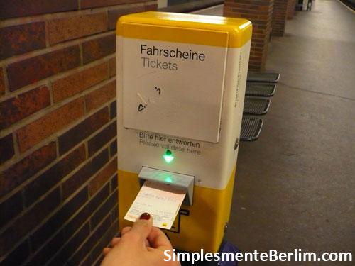 Transporte em Berlim - como usar o metrô