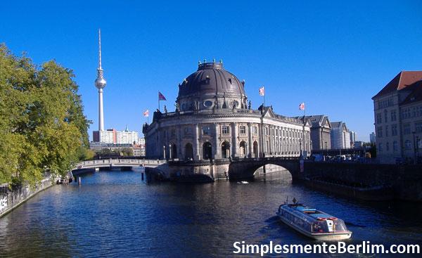 Bode-Museum na Ilha dos Museus em Berlim