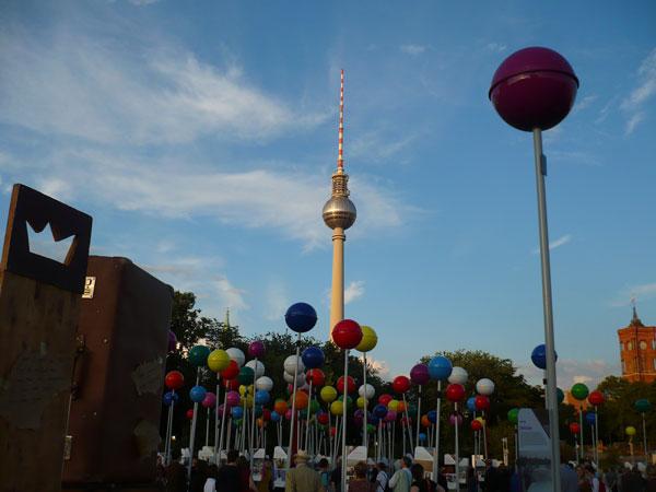"""Exposição """"Cidade da Diversidade"""" em Berlim"""