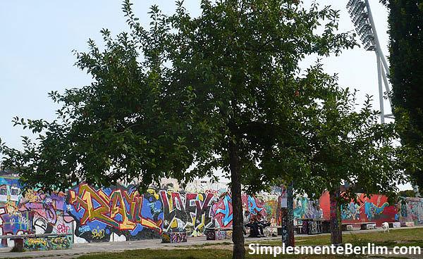 Restos do Muro de Berlim no Mauerpark