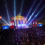 Comemoração no Portão de Brandenburgo (Fonte: www.silvester-in-berlin.de)
