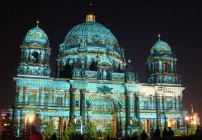 Festival of Lights 2012 - Catedral de Berlim