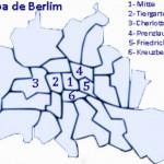 Mapa de Berlim - Os melhores lugares para se hospedar