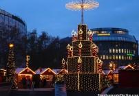 Feira de Natal em Berlim - Gedächtniskirche