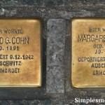 Stolpersteine Berlim