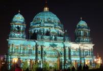 A iluminação da Catedral em 2012