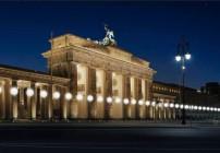 Simulação ds instalação de balões luminosos (Fonte: www.berlin.de)