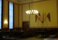 A sala onde a rendição da Alemanha foi selada