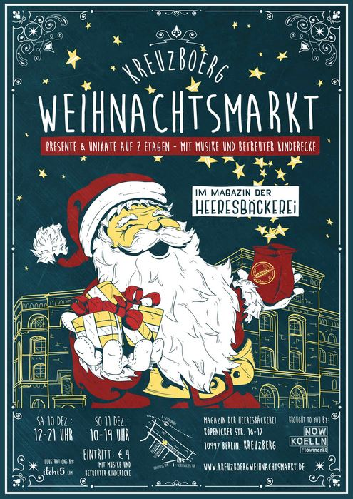 Kreuzboerg Weihnachtsmarkt (Fonte: www.kreuzboerg.de)