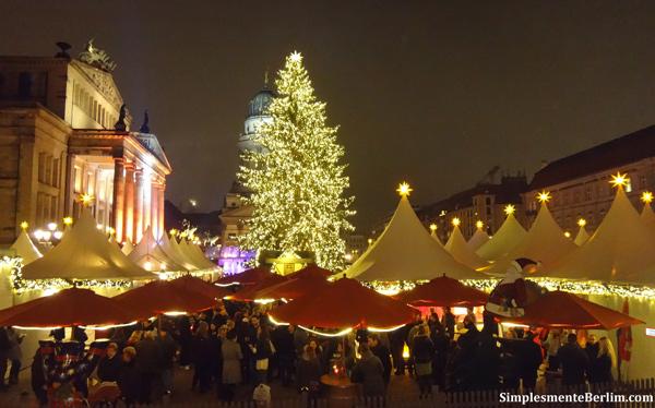 Mercado de natal no Gendarmenmarkt