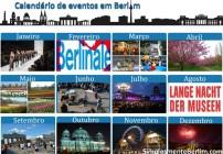 Calendario de eventos em Berlim