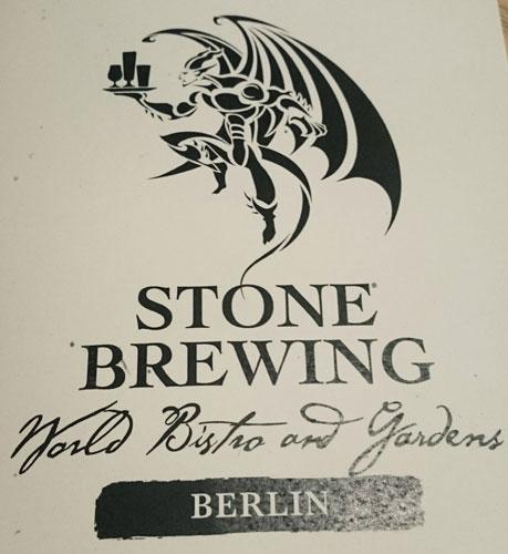 Cervejaria Stone Brewing Berlim - Logo