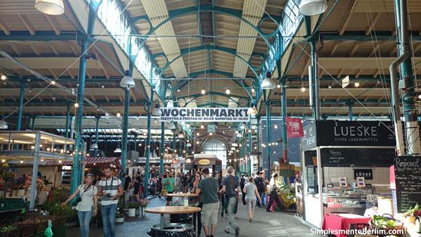 Markthalle Neun em Kreuzberg