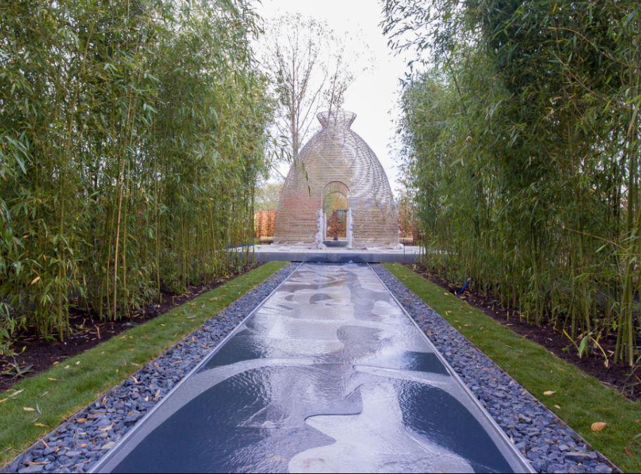 """O Jardim Chinês, um dos jardins do """"Gartenkabinetten"""" (Fonte: iga-berlin-2017.de)"""