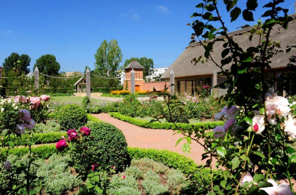 O mais novo jardim temático, o Jardim Inglês (Fonte: iga-berlin-2017.de)