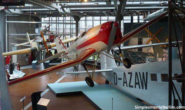 Aviões - Museu Alemão de Tecnologia de Berlim