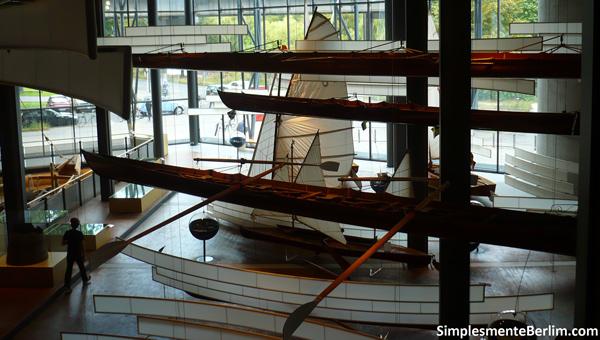 Barcos - Museu Alemão de Tecnologia de Berlim