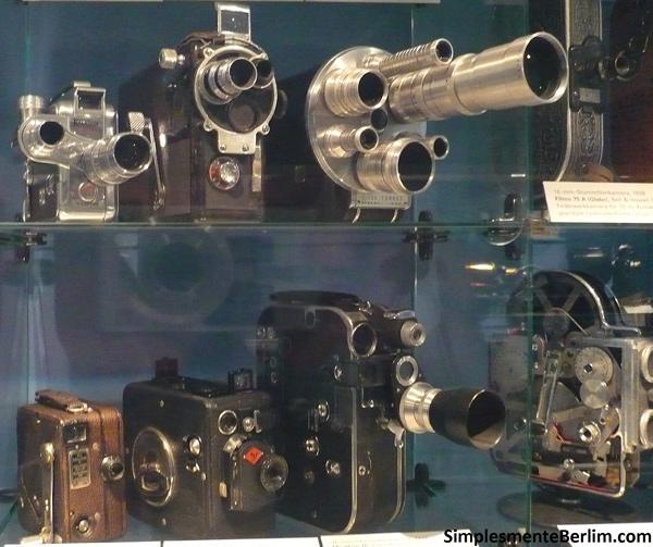 Filmadoras - Museu Alemão de Tecnologia de Berlim