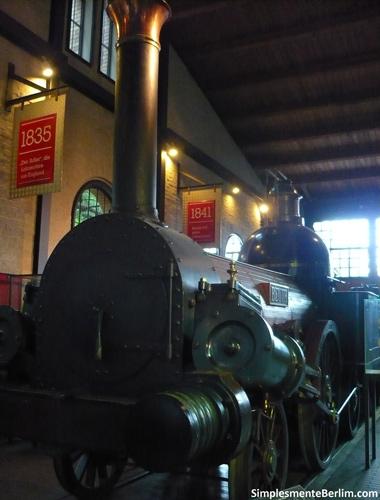 Locomotiva - Museu Alemão de Tecnologia de Berlim