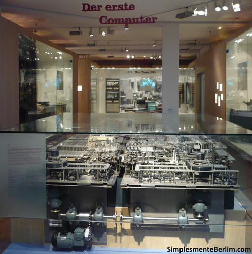Primeiro Computador - Museu Alemão de Tecnologia de Berlim
