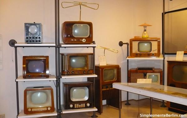 Televisões - Museu Alemão de Tecnologia de Berlim