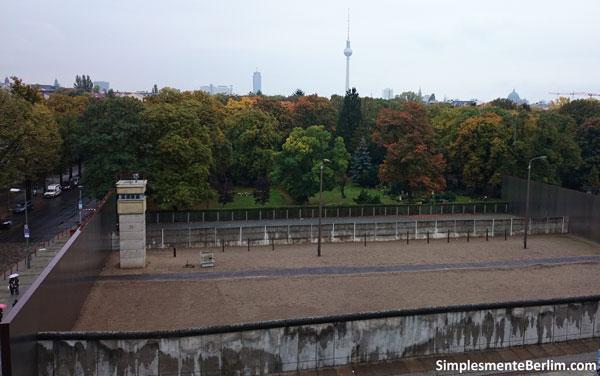 Restos do Muro de Berlim - Bernauer Straße