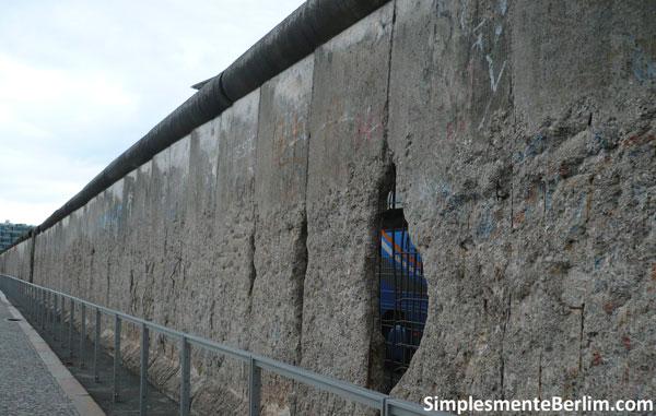 Restos do Muro de Berlim - Topografia Terror