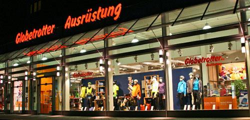 297c9339f0 Uma mega loja com 4.800 metros quadrados para os amantes dos esportes. A  Globetrotter oferece uma grande variedade de roupas (muitas jaquetas)